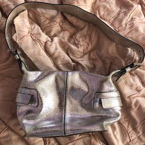 Hype Silver Mini Bag metallic